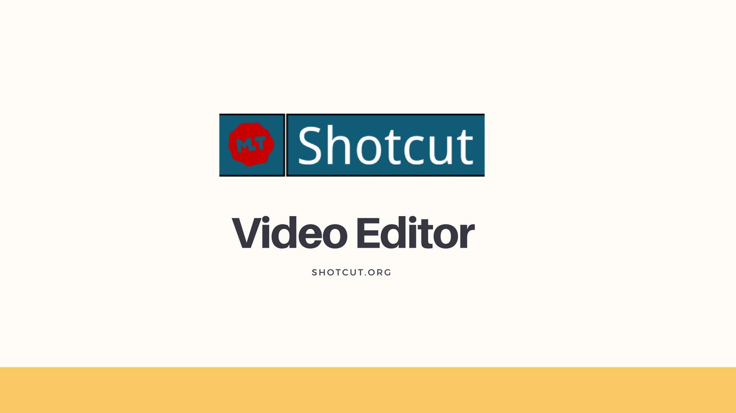 Shotcut, un editor de vídeo libre y eficaz