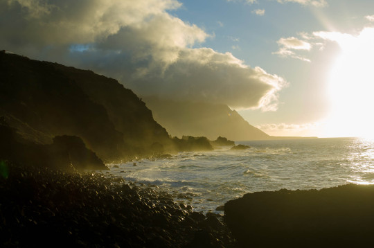 Las rocas de la playa